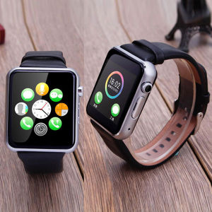 2.5D Arc Ogs IPS Cell Phone Watch Smart Watch with GSM Phone pictures & photos