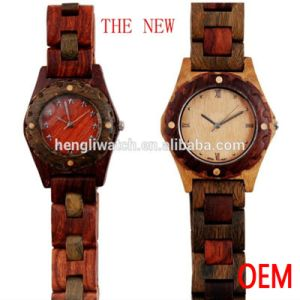 Hot Fashion Sandalwood Watch, Best Quality Wooden Watch (Ja15045)