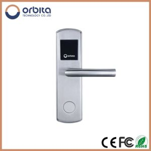 Super Intelligent RF Card Hotel Lock with LED Screen pictures & photos
