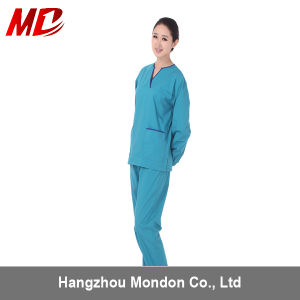 Cheap Cotton and Polyster Medical Uniform pictures & photos