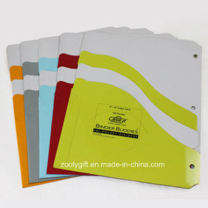 "3 X 5 "" Index Card CD Pockets / Tri- Pockets Dividers Fit for 3 Ring Binders pictures & photos"
