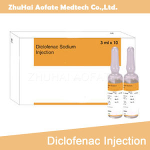 China Diclofenac Sodium Injection Relieve Pain OEM GMP Drugs