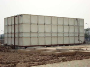 High Effective Storage FRP SMC GRP Panel Sectional Water Tanks pictures & photos