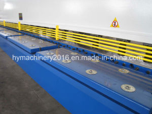 QC12y-10X2500 Hydraulic Swing Beam Shearing Machine/plate cutting machinery pictures & photos