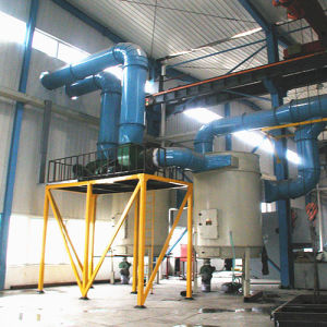 Double-Silo Sandblasting Machine with High Quality