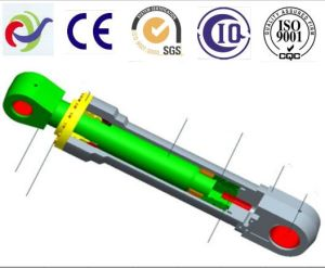 Machinery Spare Parts Project Hydraulic Cylinder From Cjina