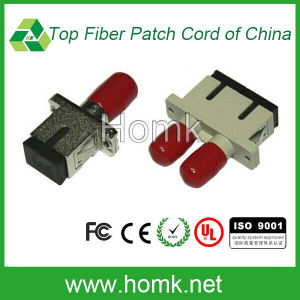 Metallic Sc-FC Optical Fiber Adapter