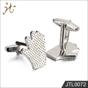 Fashion Nice Quality Palm Design Jewelry Cuff Buttons for Men pictures & photos