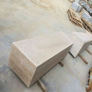 China Natural Beige/Light Yellow Granite Strip for Wall/Column/Curbstone/Pillar