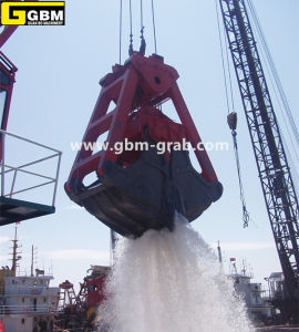 Mechanical Four Rope Underwater Dredging Grab pictures & photos