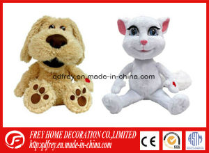 Plush Toy of Stuffed Dog/Cat with Musical Sound Chip pictures & photos