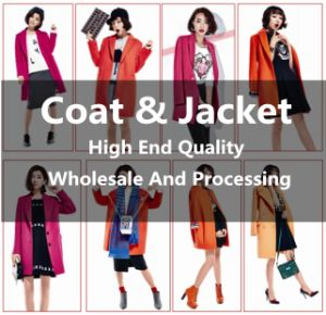 Brand Quality Dresses Woolen Style Jacket or Coat for Women and Ladies