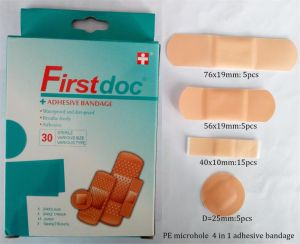 Size and Shape Assorted 30PCS Water-Proof Assorted Adhesive Bandage pictures & photos