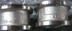 Cast Steel Duo Plate Wafer Check Valves pictures & photos