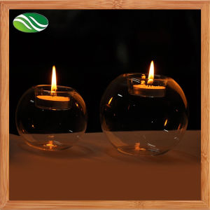 Handmade Clear Candle Stick Candle Holder pictures & photos
