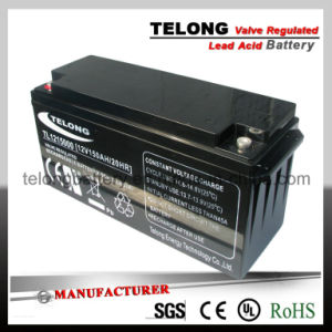 12V150ah Deep Cycle Lead-Acid Battery for Solar Power pictures & photos