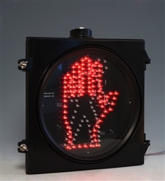 300mm Pedestrian LED Traffic Signal Red Stop and Green Man
