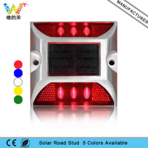 3m Reflector Red Flashing Light Led Waterproof Solar Aluminium Road Stud One Side Road Stud