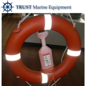 Marine Inflatable Types of Life Buoys with 30 M Buoyant Line pictures & photos