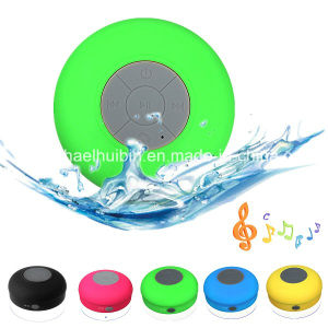 Promotion Gift Bathroom Waterproof Sucker Music Bluetooth Wireless Speaker (BS-030)