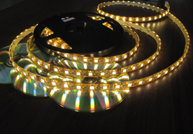 SMD3528 DC12V Non Water Proof LED Strip Light