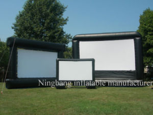 Giant Projection Screen Inflatable Movie Screen for Outdoor