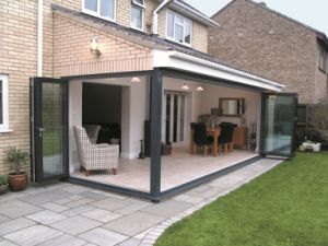 Aluminum Folding Door with Germany Hardware pictures & photos
