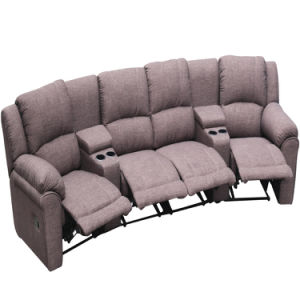 Available for Different Sitting Posture Requirement Modern Sofa Bed Fashion Fabric Recliner