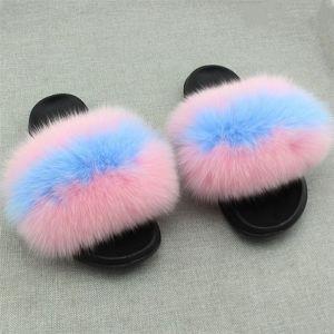 801ee1486019 China Cruelty Free Fox Real Wholesale Slippers Sandal Heels Fur ...