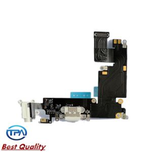 Port Dock Connector & Headphone Audio Flex Cable for iPhone6 Plus