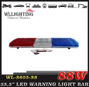 Emergency Amber Police Traffic Car LED Warning Strobe Lightbar Wl-8605-88 (LED-LIGHT-BAR)