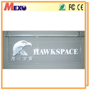 Window Display Acrylic Brand Name Logo Sign LED Sign Board pictures & photos
