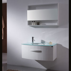 Hot Sale Australia Standard White Lacquer Bathroom Furniture pictures & photos