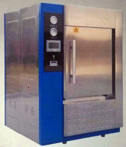 Double Door Vacuum Autoclave for Food / Bottle / Cans