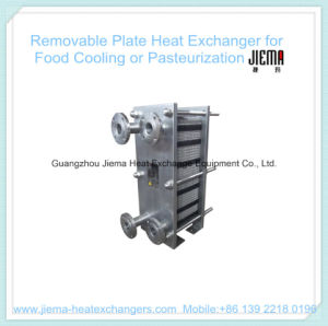 Removable Plate Heat Exchanger for Pasteurization (BR0.2-1.0-7-E) pictures & photos