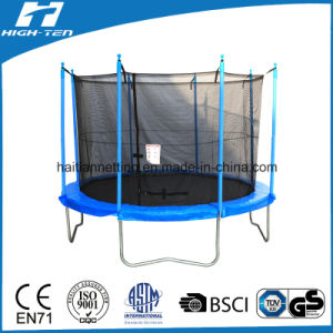 Round Simplified Trampoline with Safety Net Inside