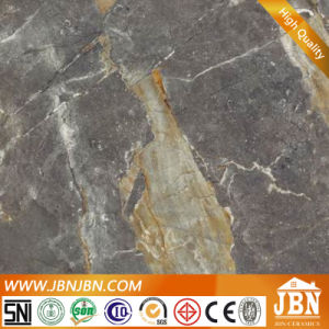 Dark Grey Porcelain Polsihed Marble Stone Tile (JM8604) pictures & photos