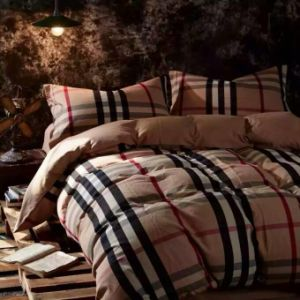 100% Cotton and Yam-Dyed & Flannelette &4 PCS Bed Lien Bed Sheet Set (SH16001-19)