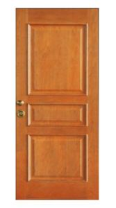 High-End Interior Wooden Fire Door