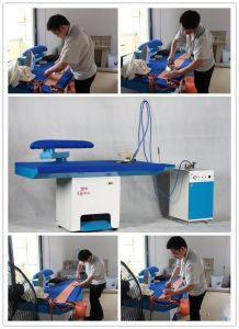 Laundry Vacuum Ironing Table for Hotel pictures & photos
