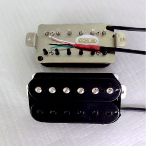 Paf Style Nickel Silver Baseplate AlNiCo 5 Humbucker Guitar Pickup pictures & photos