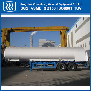 Liquid Oxygen Nitrogen Argon CO2 Gas Tanker Truck Semi Trailer pictures & photos