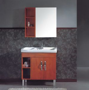 Modern Style Bathroom Vanity with Mirror (NJ-637) pictures & photos