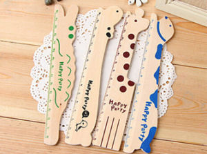 Cute Design Good Quality Wooden Ruler pictures & photos