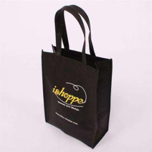 9cf25e27e288 China Black Non-Woven Gift Shopping Bags for Advertisement (FLN-9102 ...