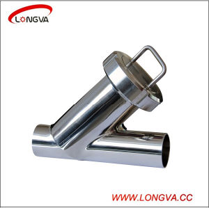 Stainless Steel Sanitary Y Type Butt Welded Filter pictures & photos