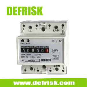 Single Phase DIN Rail Kwh Meter, Electronic Electrical Meter