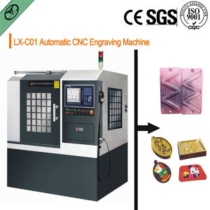 High Precision CNC Lathe Machine for Metal Engraving pictures & photos