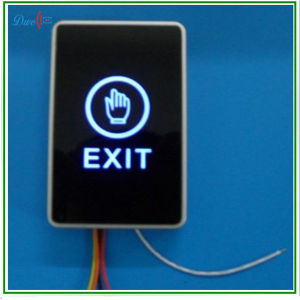 12V Touch Type Infrared Door Exit Button Switch with No Nc COM Interface pictures & photos