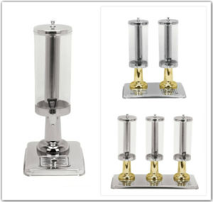 Round Single/Dual/Triple Tank Juice Dispenser for Buffet and Restaurant pictures & photos